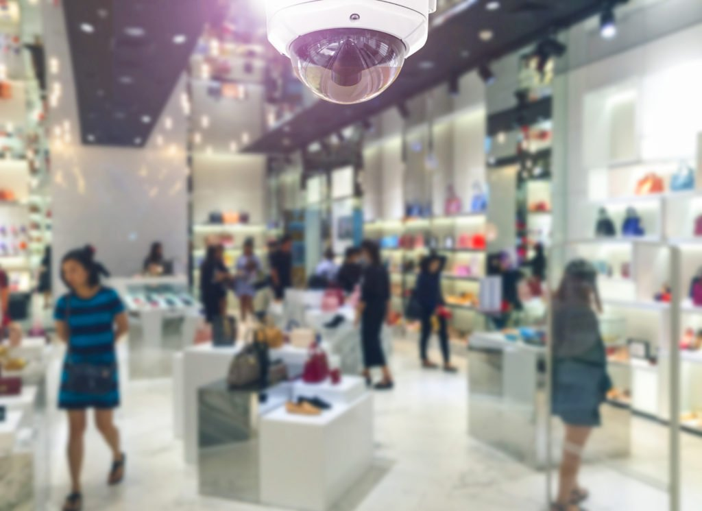 retail video security system